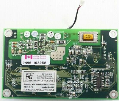 Action Tec Electronics Inc LF560LKQ PLC Used Functionality