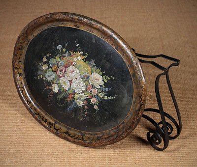 Antique Late 19th.c. Papier Mache Tray c.1890