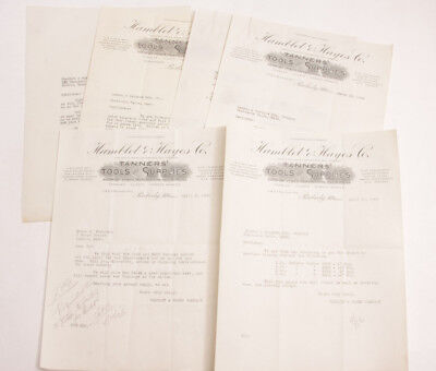 1926 Lamson Goodnow Hamblet Hayes Co Tanners Tool Supply Peabody Ephemera L189H