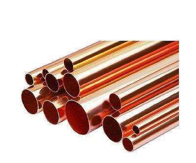 2 Diameter Copper Pipe Type D Tube X 1 Length