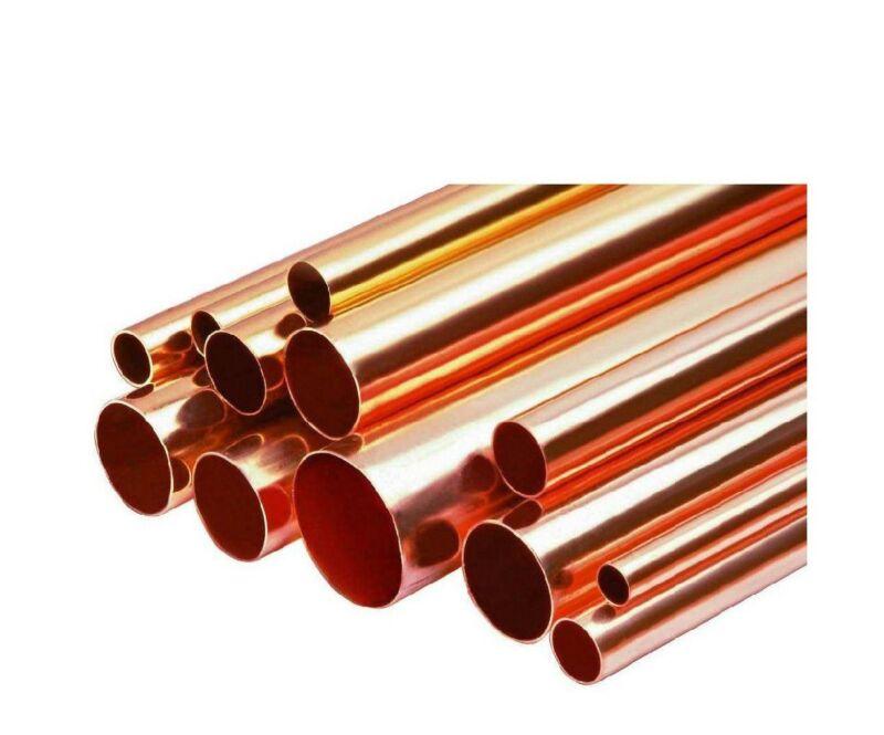 "2"" Diameter Copper Pipe Type D Tube x 1"