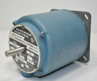 Superior Electric Slo-syn Ss150be 72rpm 120v Bm101004 W Gear Reducer 201