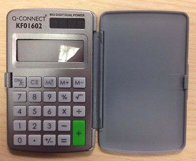 Pocket Calculator 8-digit Q Connect KF01602