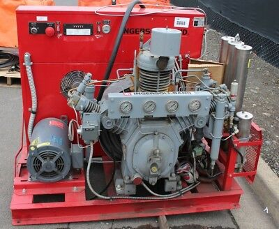 Ingersoll-rand Hp Breathing Air Compressor Scbascuba 6000 Psi Bap20th3
