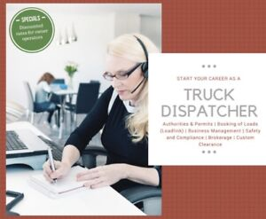 Trucking Dispatcher Course ,Start Asap #647-230-2766