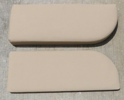Genuine OEM 2008 Sea Ray 290 Sundancer Boat Cushion Side Panels Tan