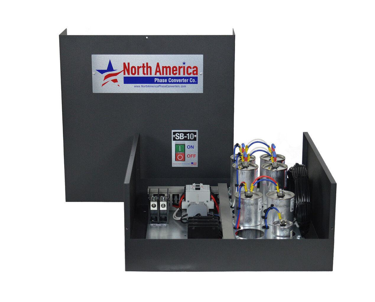 SB-10 Smart-Boost™ 10HP Digital Rotary Phase Converter, Custom Baldor  Generator