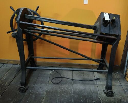 Antique Industrial Bookbinding Press