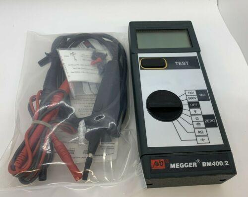 Megger AVO BM400/2 Series Analog/Digital Insulation & Continuity Tester Meter