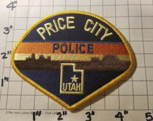 Price City (UT) Police Department Patch     ***NEW***
