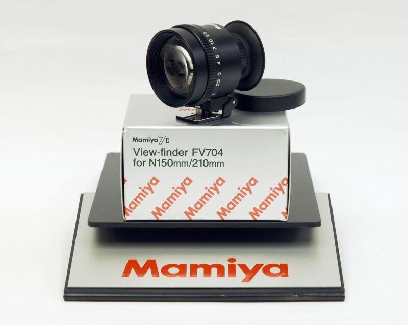 Mamiya 7 / Mamiya 7 II 150mm / 210mm lens VIEWFINDER FV704 (for Mamiya 6/MF6 OK)