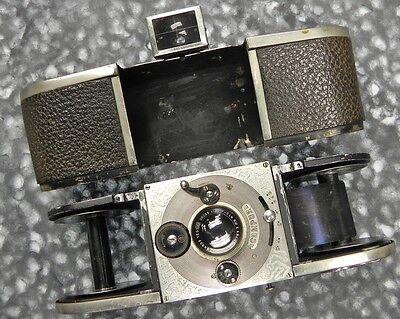 Krauss EKA with E.Krauss 5cm f3.5 Tessar  #328 ......... Rare !!