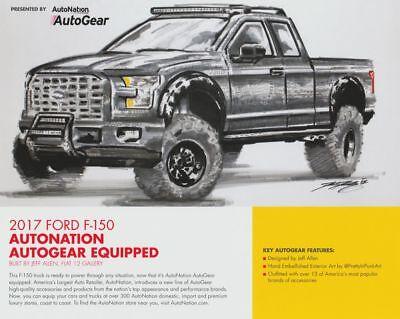 2017 Flat 12 Gallery Autonation Ford F 150 Autogear Shell Sema Show Info Card
