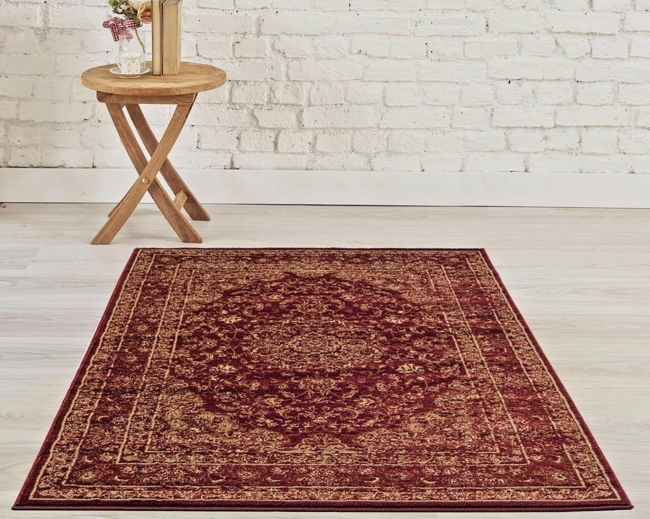 Rugs Area Carpet 8x10 Rug Large Oriental Persian Floor Red New