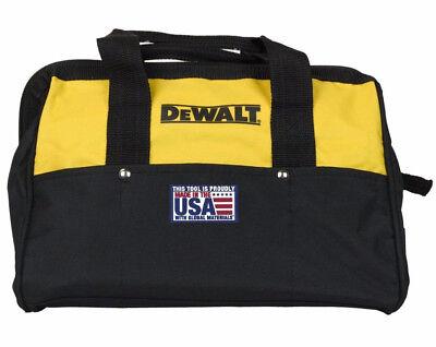Dewalt 13  6 Pocket Heavy Duty Nylon Canvas Contractor Tool Bag N037466 New