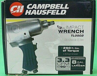 Campbell Hausfeld Pneumatic 12 Impact Wrench Tl0502
