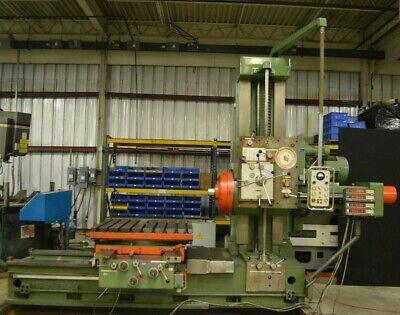 Meuser Co Model M76bfs-44650 Horizontal Boring Mill With Sony Dro