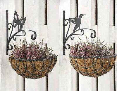 2er SET Haken für Blumenampel Ampelhaken Ampelhalter Wandhaken Wandhalterung E