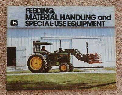 1980 John Deere 2440 2640 2840 2940 4230 4040 4240 Tractor Attachments Brochure