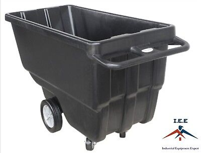 Heavy Duty Janitorial Dump Tilt Cart 34 Cubic Yard Hotel Recycle Airport Etc