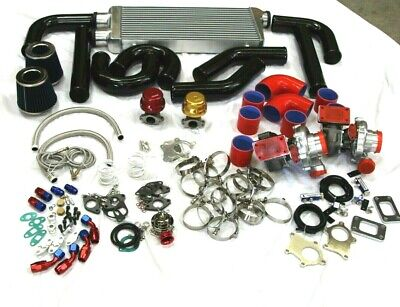 Chevy Twin Turbo Kits - SUPER TWIN TURBO CHARGER KIT FOR CHEVY CAMARO SS LS1 LS5 LS6 SMALL/BIG BLOCK