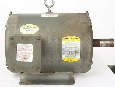 7.5 Hp 1760 Rpm 213t Odp 208-230460 Volts Baldor Electric Motor M3311t-ch