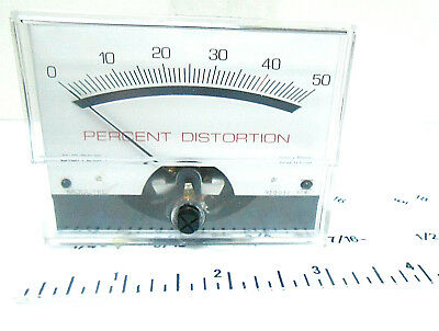 051-00023-b Digitech Meter 0-50 Percent Of Distortion New Old Stock