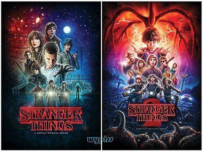Stranger Things: The Complete Seasons 1-2 (DVD, 2017, 5-Disc Box Set) New F&S