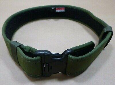 Bianchi 7200 Accumold Green Law Enforcement Nylon Duty Belt 28-34 Small