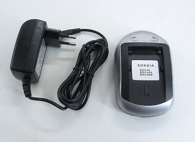 SOKKIA BDC46 Li-ion BATTERY PACK CHARGER W/ INTERCHANGEABLE BATTERY PACK ADAPTER
