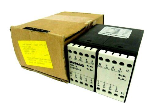 NEW MANNESMANN DEMAG 48636844 CONTACTOR HSN-8 290/45107869