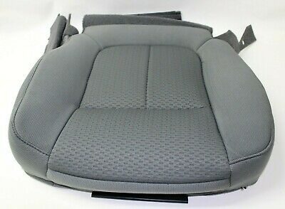 FORD F-150  2011 2012 2013 2014  DRIVER BOTTOM SEAT COVER STEEL GRAY