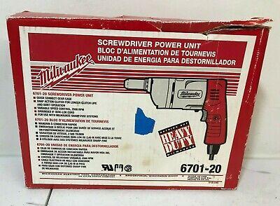 Milwaukee Heavy Duty Screw Driver 6701-20