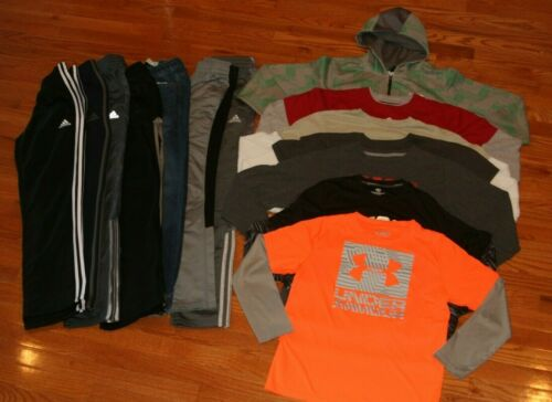 Awesome Boys Size XL 14-16 Fall & Winter Athletic Clothing Lot 14/16 EUC