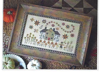 """""""CINNAMON STARS""""  -   Cross Stitch Pattern - Plum Street Samplers"""