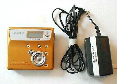 Sony Walkman MZ-N505 Type-R Portable Minidisc Recorder w/ Sony Power Cord