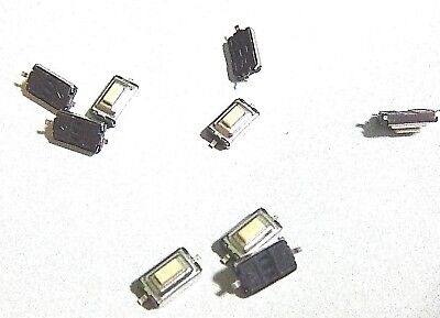 10x 2 Pin Beveled Tactile Push Button Tact Switch Micro Switches  Smd 6x4x3mm