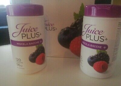 Juice plus capsule 120+120 confezione integra in ogni sua parte.