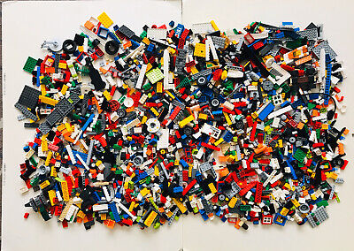 Lego 5kg & Mini Figures Job Lot Mixed Bundle
