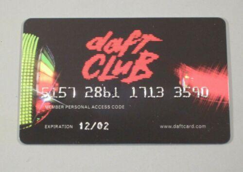 Daft Punk - Daft Club Membership Credit Card