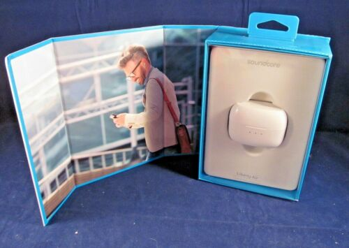 ANKER SOUNDCORE LIBERTY AIR TOTAL WIRELESS IN EAR EARPHONES - WHITE, EXCELLENT