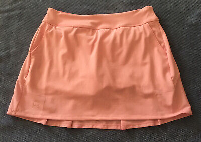 Womens New TU Coral Pink stretchy short summer skirt Tennis Style Size 18 rrp£16