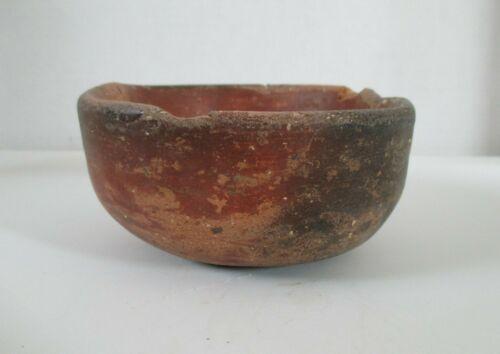 Pre-Columbian Redware Pottery Bowl