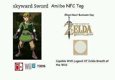 Skyward Sword Link Amiibo   Zelda Breath Of The Wild  Not Figurine