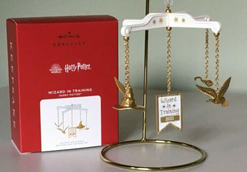 Hallmark 2021 Harry Potter Ornament WIZARD IN TRAINING ~ NMIB