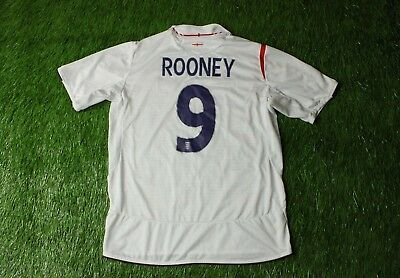 0e5d3c9cc9a ENGLAND NATIONAL TEAM ROONEY 2005-2007 FOOTBALL SHIRT JERSEY HOME UMBRO  ORIGINAL