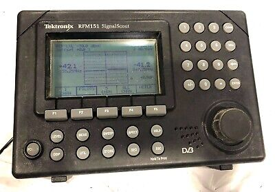 Tektronix Rfm151 Catv Signal Analyzer Tested Spectrum Analyzer Signal Meter