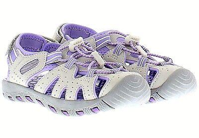 ON SALE! KHOMBU Kids Girl's Active Sandal - Purple/Gray - SIZE 1, 2, 3,4 - - Girls On Sale
