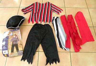 Toddler Boys PIRATE BOY Halloween Costume Size Small - Toddler Boy Costumes