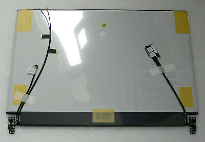 NEW GENUINE ALIENWARE M15 R2 WHITE FHD OLED COMPLETE SCREEN HINGES K055G NN19Y